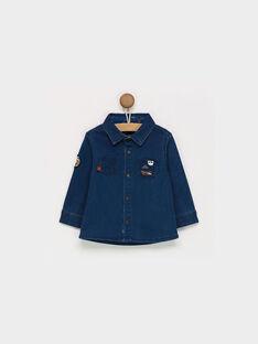 Dark denim Shirt PAOMER / 18H1BGK1CHMK005