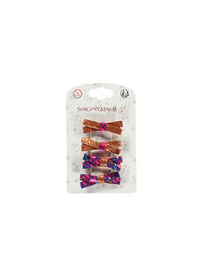 Copper Hair clip ROUNETTE / 19E4PFK3BRT952