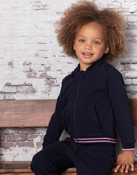 Baby girl polka dot hoodie BROJOETTE / 21H2PF31JGH070
