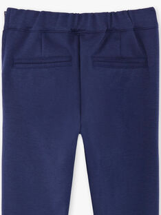 Blue horizon pants child girl ZEPATETTE 2 / 21E2PFB1PAN216
