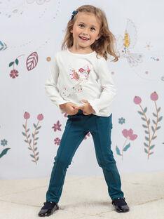Baby Girl Duck Blue Peg Pants BEMILETTE3 / 21H2PF91PAN714