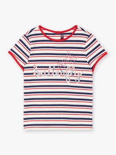 T-shirt short sleeves child girl ZOBABETTE / 21E2PFB2TMC632