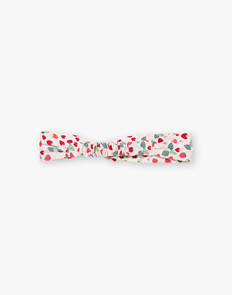 Strawberry printed headband ZOCHAETTE / 21E4PFJ1BAN301