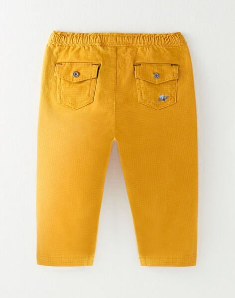 Golden yellow PANTS VAFRANCOIS / 20H1BG61PAN106