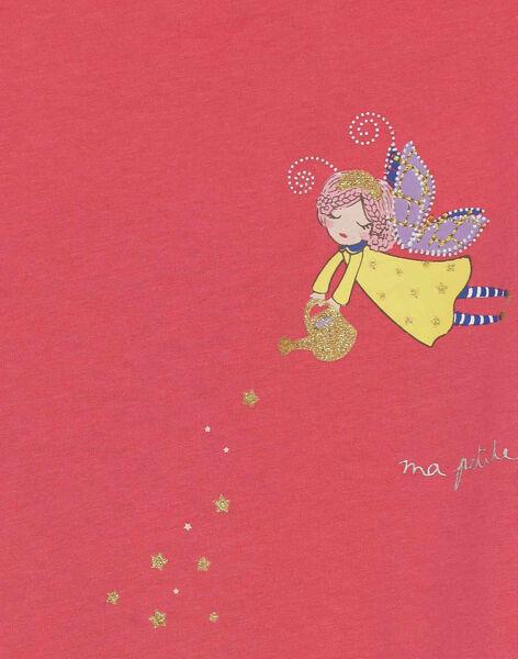 Dark pink Night dress REJOFETTE / 19E5PF71CHND312