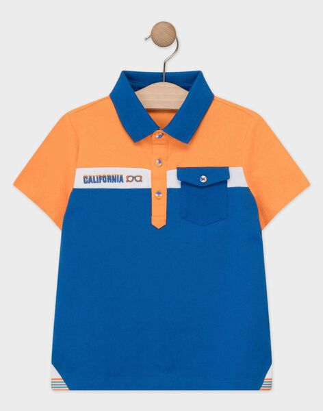 Orange Polo shirt TEBRUAGE / 20E3PGG1POL400