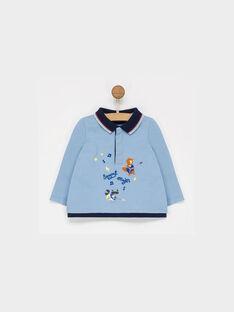 Greyish blue Polo shirt PAFLORIAN / 18H1BGD1POL205