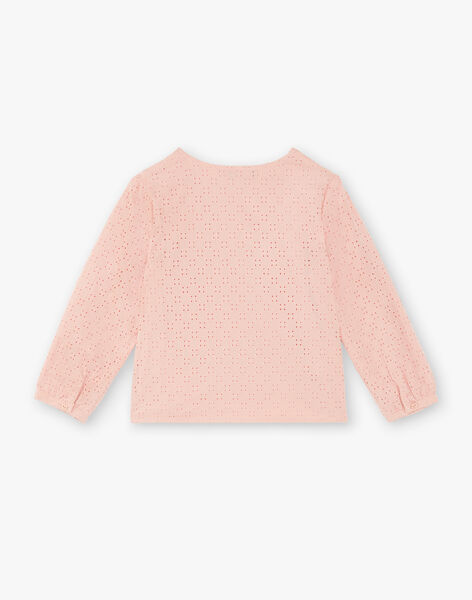 Pink blouse child girl ZACHETTE / 21E2PF71CHED327
