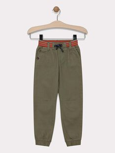 Kaki pants SATIAGE / 19H3PG31PAN628