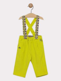 Light green pants SAKILLIAM / 19H1BG63PAN605