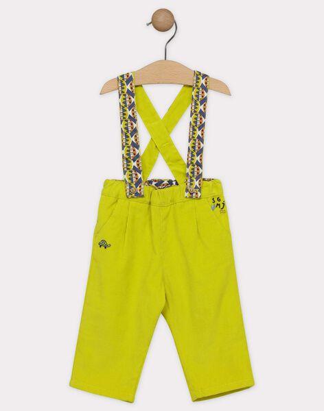 Light green pants SAKILLIAM / 19H1BG63PAN605