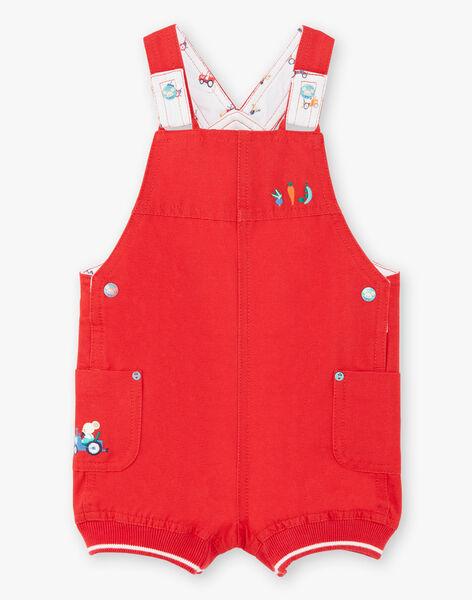 Short red overalls ZAKENZO / 21E1BGJ2SAC050