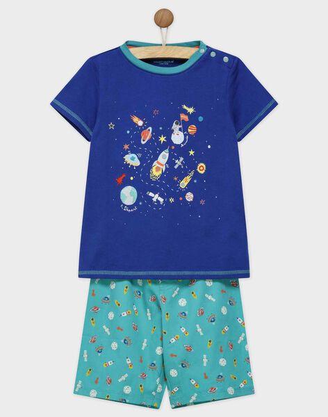 Navy Pajamas REFUSAGE / 19E5PGJ1PYJC204