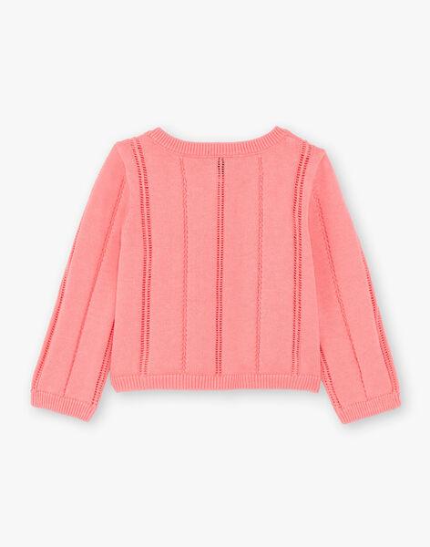 Baby girl pink vest ZAPAIGE / 21E1BFT1CARD313