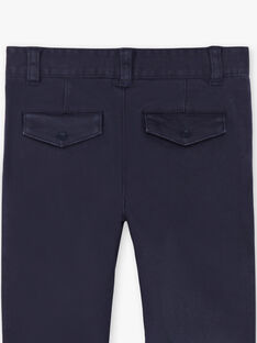 Navy blue pants for boys ZECROAGE / 21E3PGB3PAN070