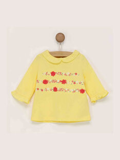 Yellow Baby blouse RADIANE / 19E1BF61BRAB105