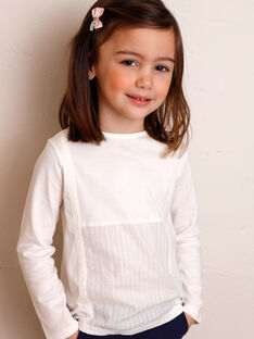 T-shirt long sleeves child girl ZETETTE 2 / 21E2PFB1TML632