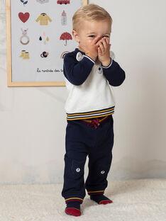 Baby Boy's Navy Blue Jogging Suit BAFREDDY / 21H1BG51JGB070