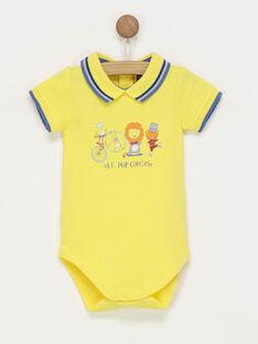 Yellow Body suit RAERIC / 19E1BGC1BOD412