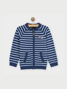 Violet blue Waistcoat RABAGE / 19E3PG41GIL221