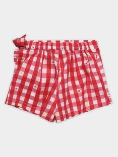 Red Shorts TIJOETTE / 20E4PFI1SDB050