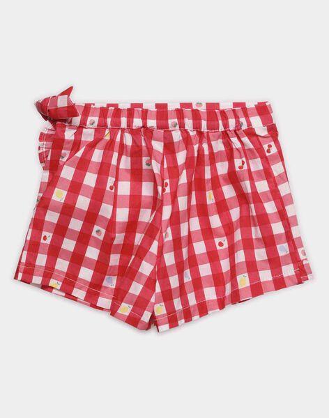 Red Shorts TIJOETTE / 20E4PFI1SDB050