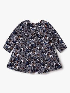 Navy DRESS VARAPHAELLE / 20H1BFY2ROB070