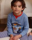 Children's blue pyjama boy ZEBAGAGE / 21E5PG15PYJC233