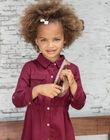 Girl's red safari dress BRORECETTE2 / 21H2PFB7ROB719