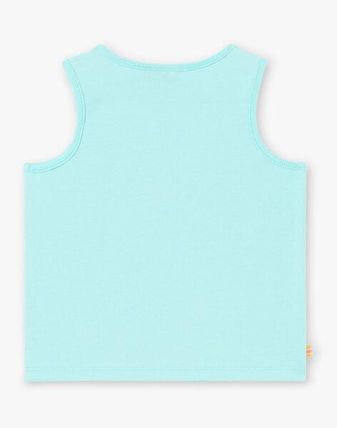 Turquoise TANK TOP ZATIMOTE / 21E1BGU1DEB202