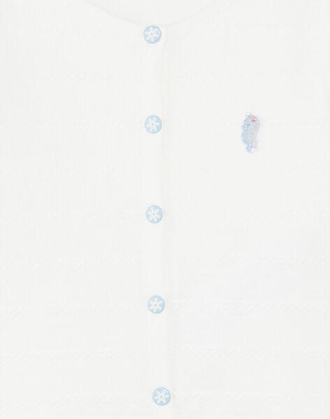 Off white CARDIGAN ZAPIA / 21E1BFT2CAR001