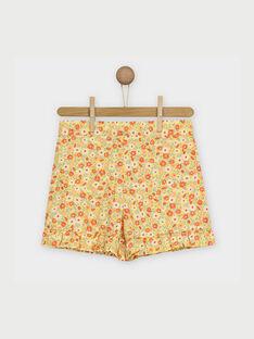 Yellow Shorts RYFLOETTE / 19E2PFH1SHO010