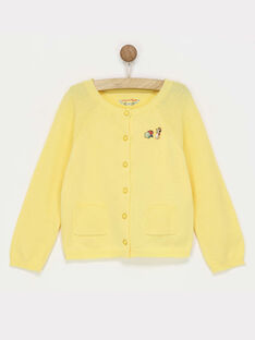 Yellow Cardigan RADOISETTE / 19E2PF61CARB105