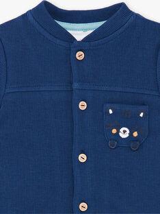 Navy blue vest ZAIGOR / 21E1BGI1GIL705