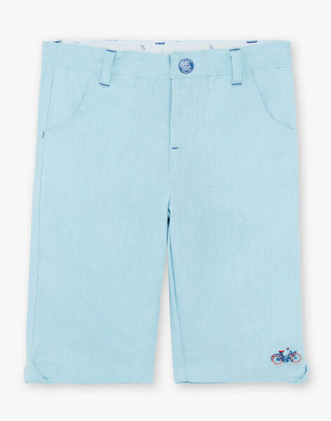 Baby Boy's Sky Bermuda Shorts and Belt TYZEULAGE / 20E3PGZ3BER631