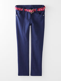 Navy PANTS VIPARETTE / 20H2PF61PAN713