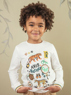 T-shirt child boy ZABIAGE / 21E3PG71TML009