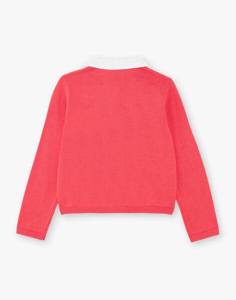 Vest girl pink guava ZOPAETTE / 21E2PFJ1CARD323