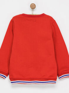 Red Sweat Shirt NIBESTAGE / 18E3PGI1SWE511