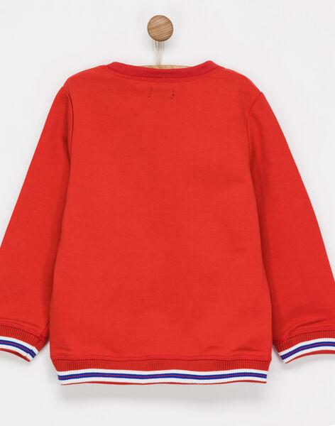 Red Sweat Shirt NIBESTAGE / 18E3PGI1SWE511
