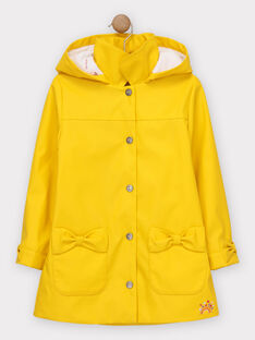 Yellow Rain coat TOUCERETTE / 20E2PFG1IMP010