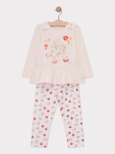Pink Pajamas TEJIMETTE / 20E5PF74PYJD328