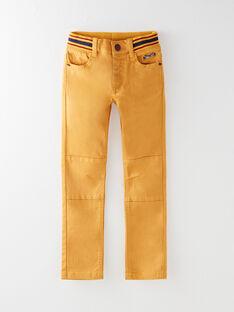 Golden yellow PANTS VARIAGE / 20H3PG62PAN106