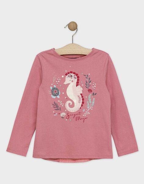 Baby rose T-shirt SYANETTE / 19H2PFE1TML307