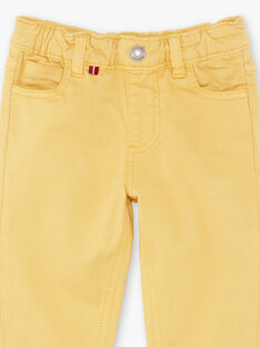 Yellow pants boy child ZAZITAGE3 / 21E3PGK4PAN010