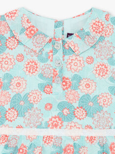 Light green DRESS ZACOLINE / 21E1BFI1ROB629