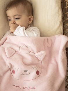 Baby blanket girl ZOELY / 21E0AFG1D4P301