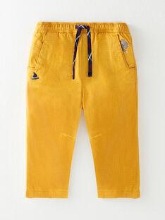 Golden yellow PANTS VAFRANCOIS / 20H1BG61PAN106
