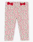Baby girl floral print legging BAAMOUR / 21H4BF11CAL001