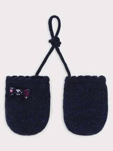Navy Gloves TADAISY / 20E4BFC1GAN070